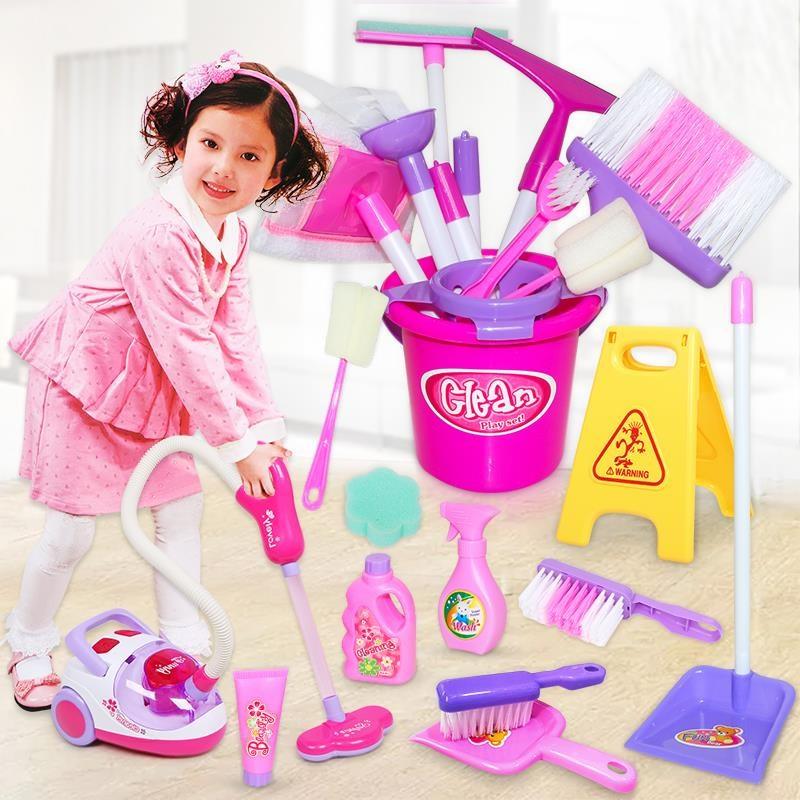 儿童家务打扫卫生家用套装玩具清扫扫帚工具小孩子大扫除用品趣味