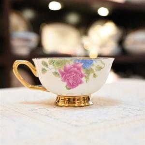 i特价骨质瓷英式高花式欧t式婚庆1个咖啡杯功夫茶杯唐山处理红茶