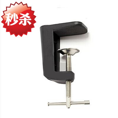 Universal tablet support rocker arm cantilever base accessories microphone support iPad fixing clip live broadcast desktop