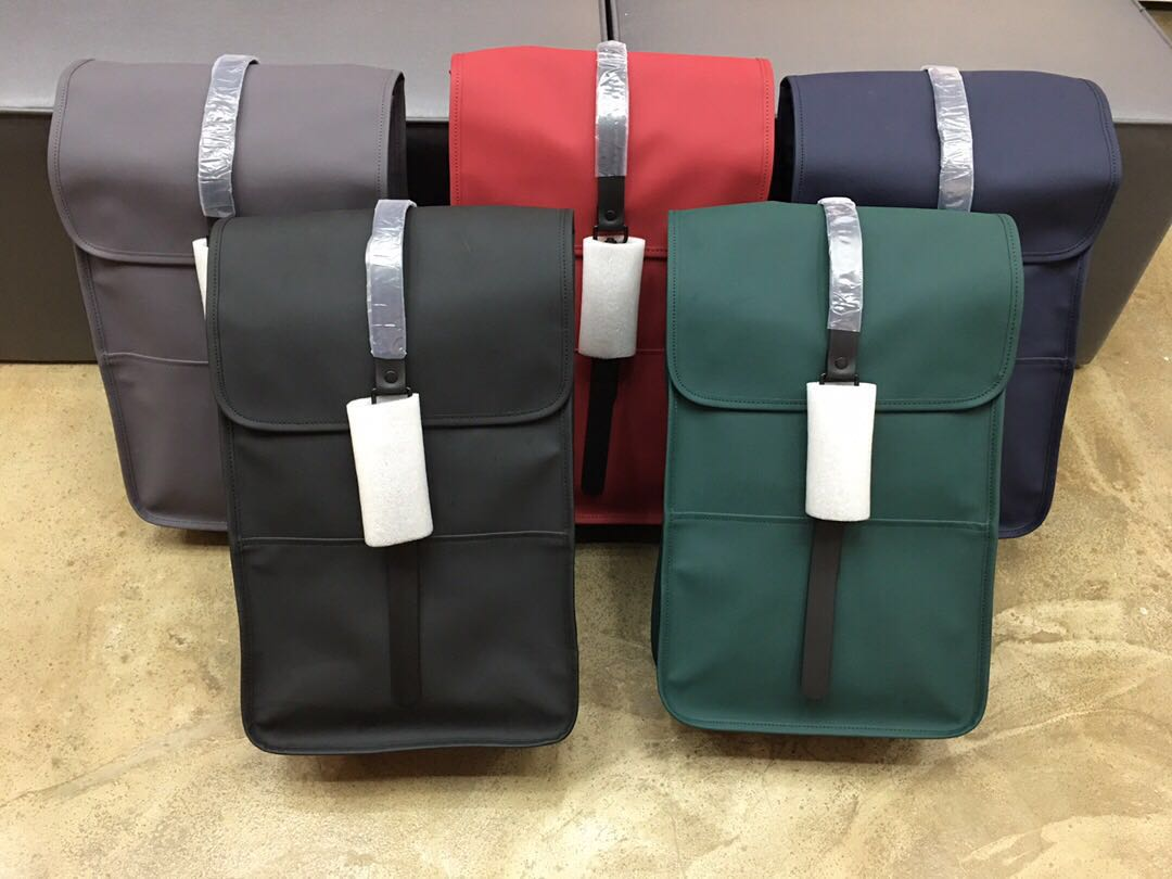 丹麦欧美风男女潮牌学生书包防泼水双肩包休闲信使旅行电脑包