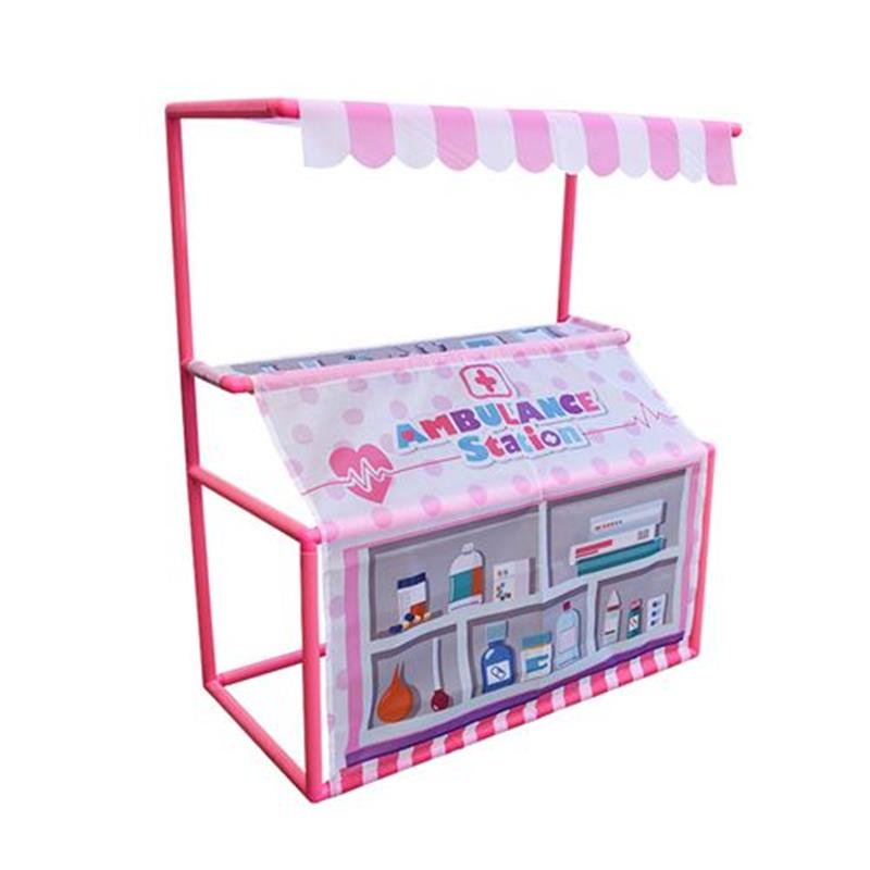 Retail customized childrens tent small house w role play baby toy ocean ball Princess Game House