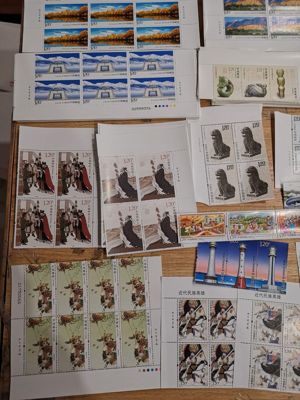 带寄信真打折分全部1.2元邮票份1邮票信荧光明信片20张可邮寄120
