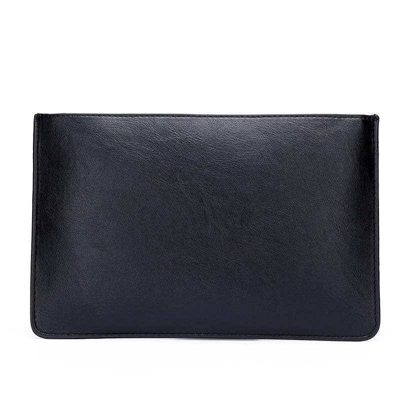 男士小包手拿包男式手提信封包质感手机包手挽大容量钱包