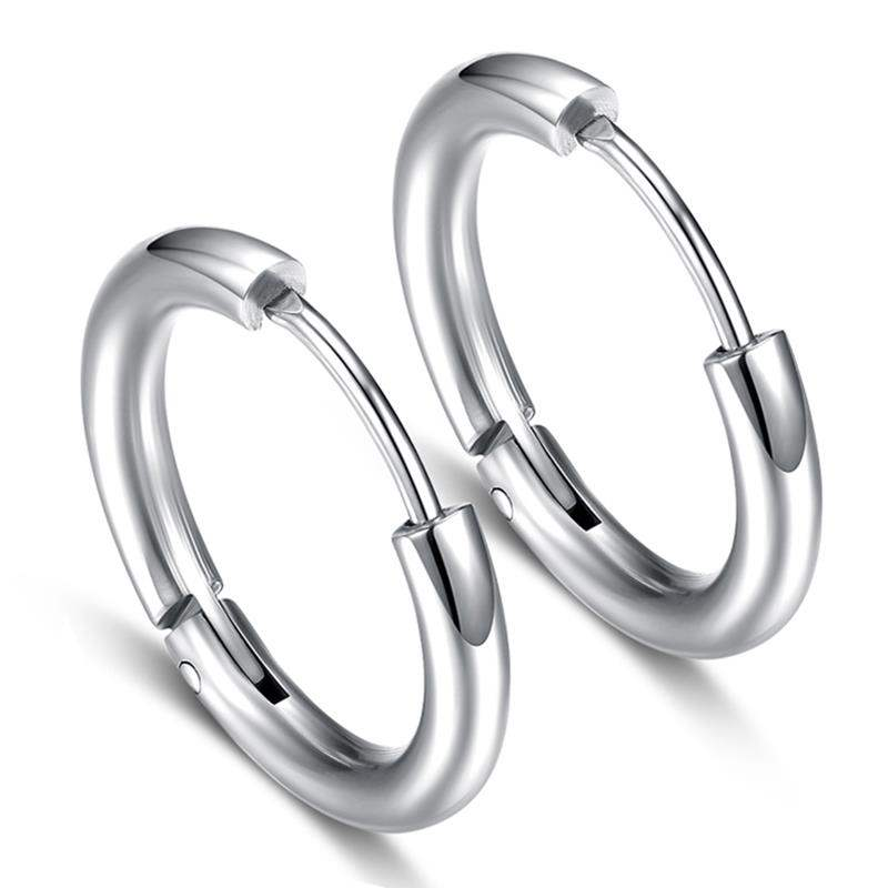 Ring retro ring titanium steel earrings rings earrings thick womens mens versatile mens beautiful mini ring spring