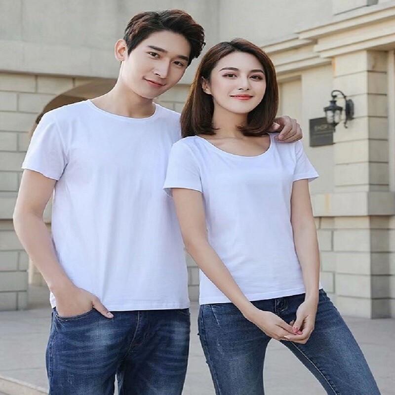 短袖T恤男女夏季新款打底衫莫代尔棉潮流宽松上衣服情侣装装半袖