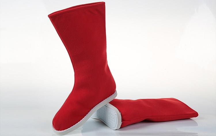 武侠の時代時代の漢服と靴の男女のコスプレ新商品の子供達の中国式布靴の戯曲の錦衣衛。