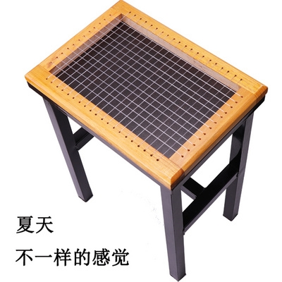 Cushion cushion clothing factory in summer, a new type of ventilated rectangular bamboo ice mat.