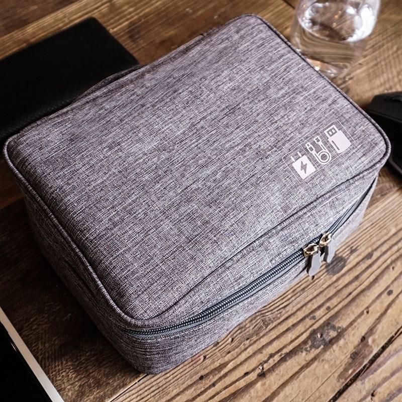 新款多功能化妆数码旅行收纳包电子数码防水防尘收纳整理包袋