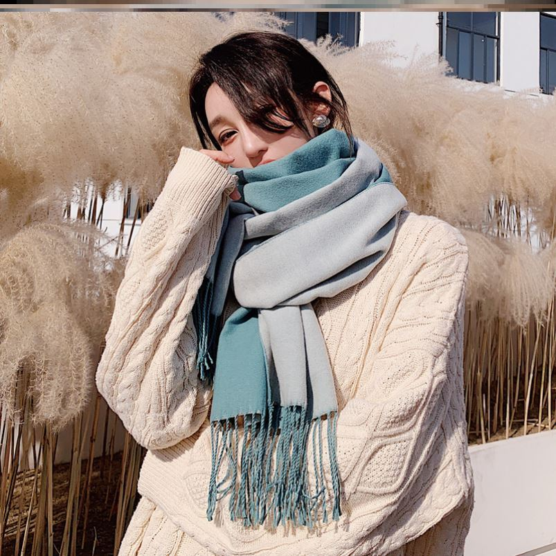 Original this years new scarf cotton light color pattern square factory color high school pilot three dimensional lettering