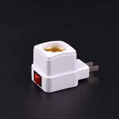 插座底座转换器e27灯头带插头开关的插式灯口螺口灯泡灯座转接202