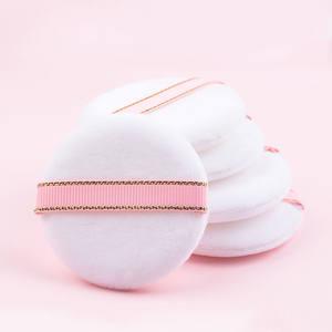 加大粉扑工具粉扑妆散粉绒毛粉饼美容气垫化妆粉扑盒蜜干定粉扑