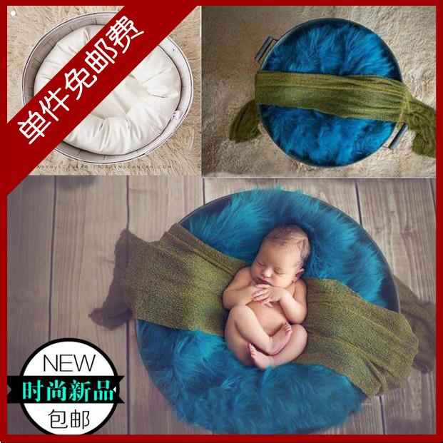 影楼婴儿满月儿童摄影道具麦圈影棚拍摄台拍照摄影助理造型枕麦圈