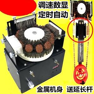 软刷台式套件串珠机盘珠机器核雕猪鬃刷抛光材料配件金刚菩手持。