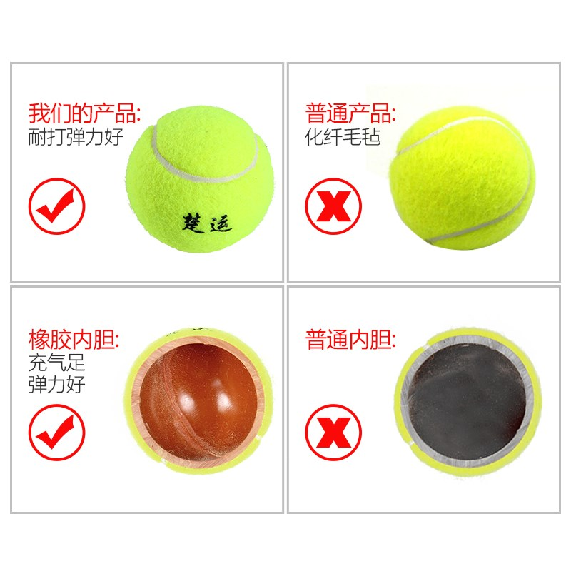 Beginner single player string tennis rebound Training Rope tennis is resistant to playing high elastic tennis, and one person plays tennis.
