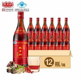 免疫调节致中和五加皮酒38度家饮500ml*6/12瓶保健食品酒整箱特价图片