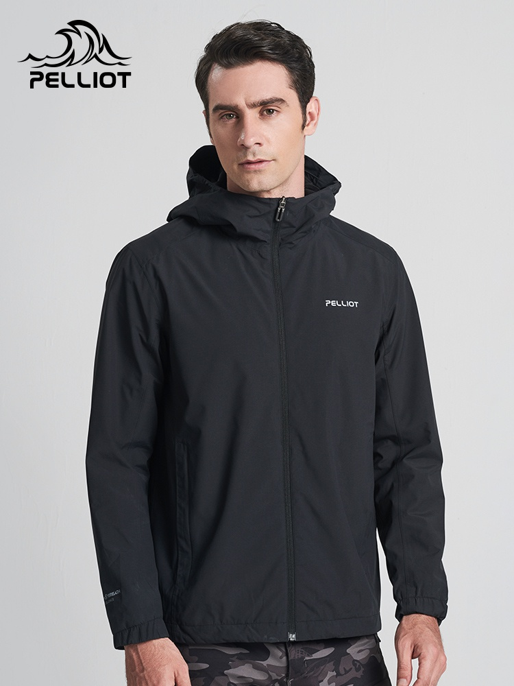 Bosch and outdoor simple single layer assault suit mens spring and Autumn Travel coat waterproof windproof sports mountaineering clothing