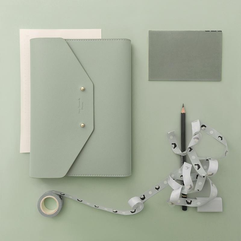 淘宝心选&手袋式手账日记日程商务创意笔记本子随身网格a5小清新