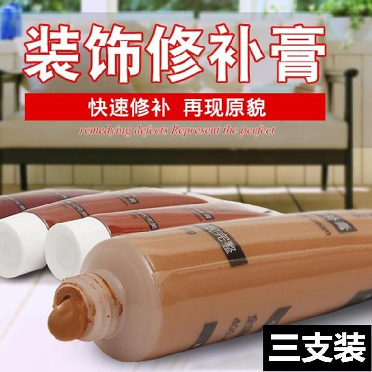 Easy to use furniture paint repair paste crayon blue color scratch paint brush wood wood chair quick dry.