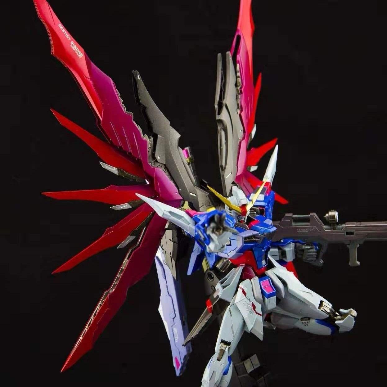 高达高高高达t主天使1命运模型七天使144拼装强袭剑能自由/