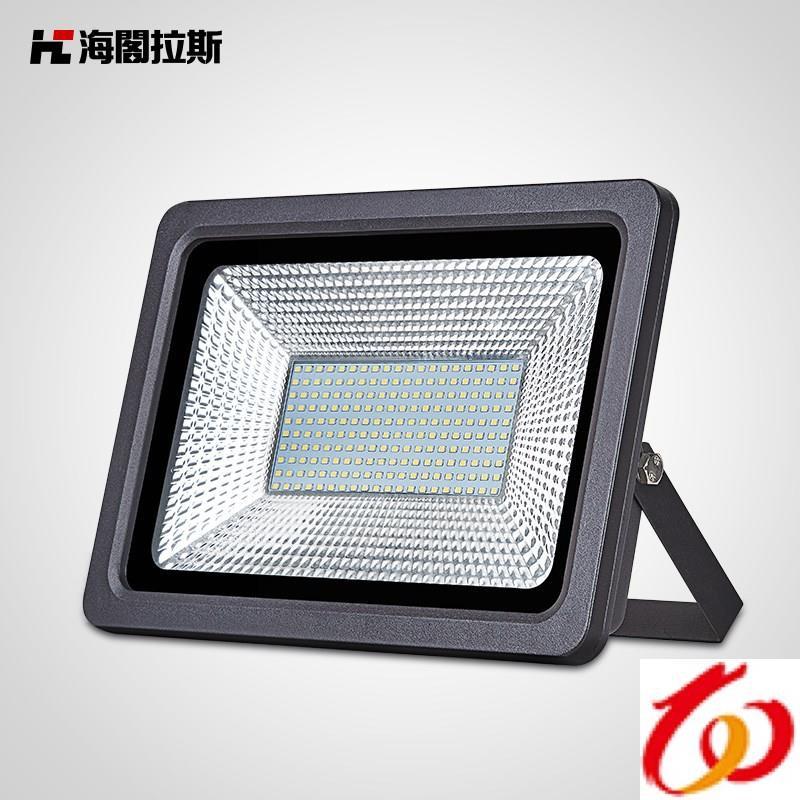 led投光灯室外广告100W超亮户外探照灯射灯防水灯招牌投射灯广。