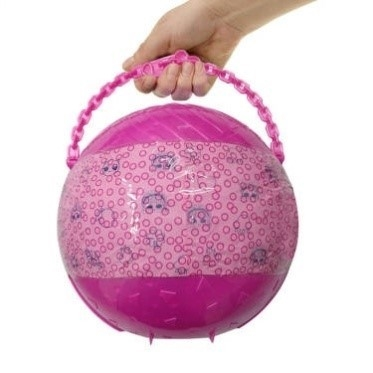 Egg four generations dismantle five generations of fun doll pearl surprise Doll Toy Festival Princess shell guess music.