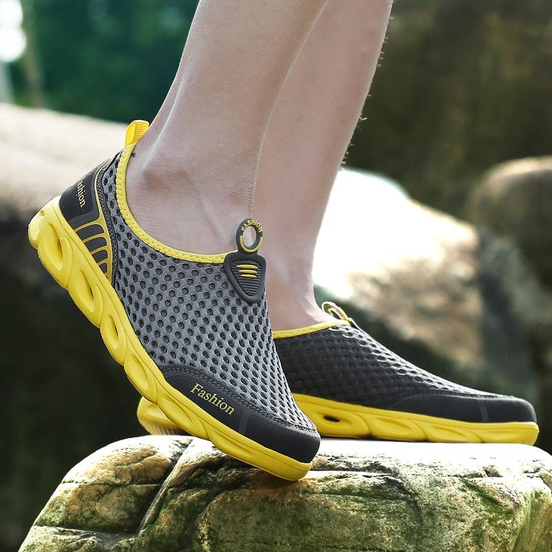 溯超徒步网鞋鞋干涉速鞋溪男女登山防滑鞋水户外透气水陆两用轻鞋