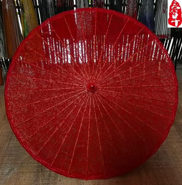 杭州大红蕾丝伞婚庆伞拍照摄影,婚礼j布置舞蹈伞道具伞工艺伞