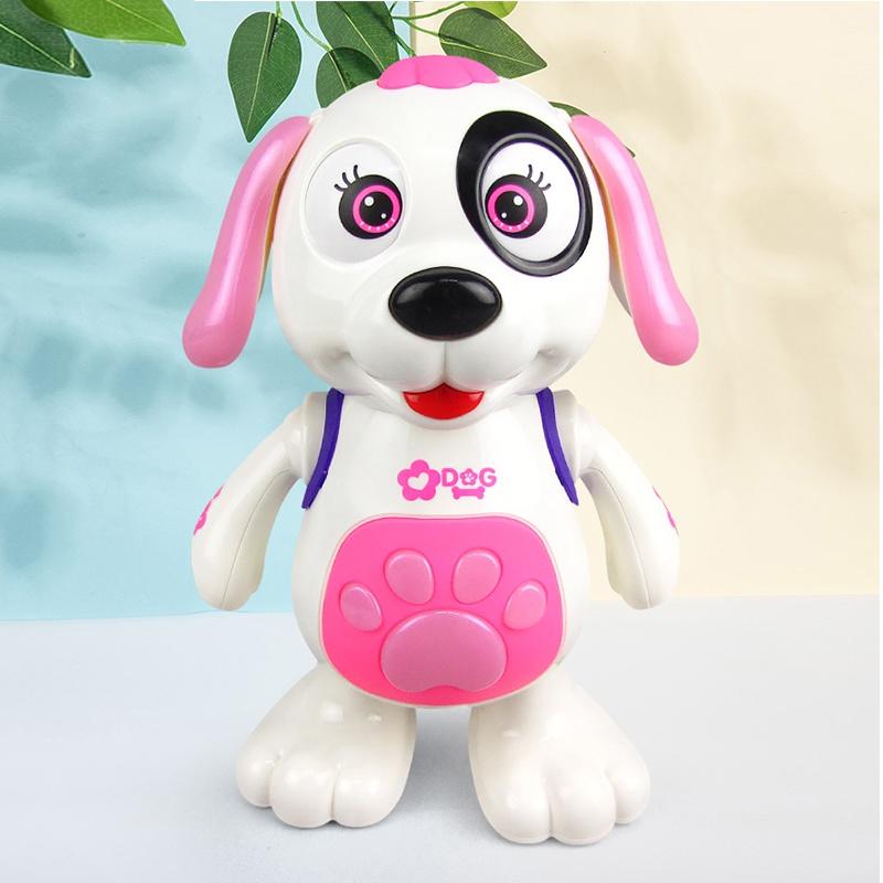 抖音跳跳狗新款电动玩具狗狗音乐灯光会跳舞儿童网红同款机器狗