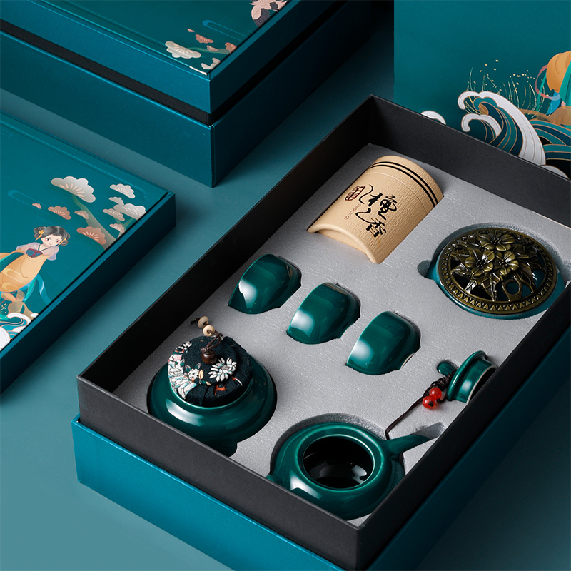 实用礼品送长辈老人送同事客户高档礼盒创意的父亲给爸爸生日礼。