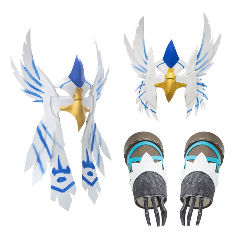[rice grains] 5th personality cos props mercenary White Eagle dance cos Eagle Claw mask props in stock