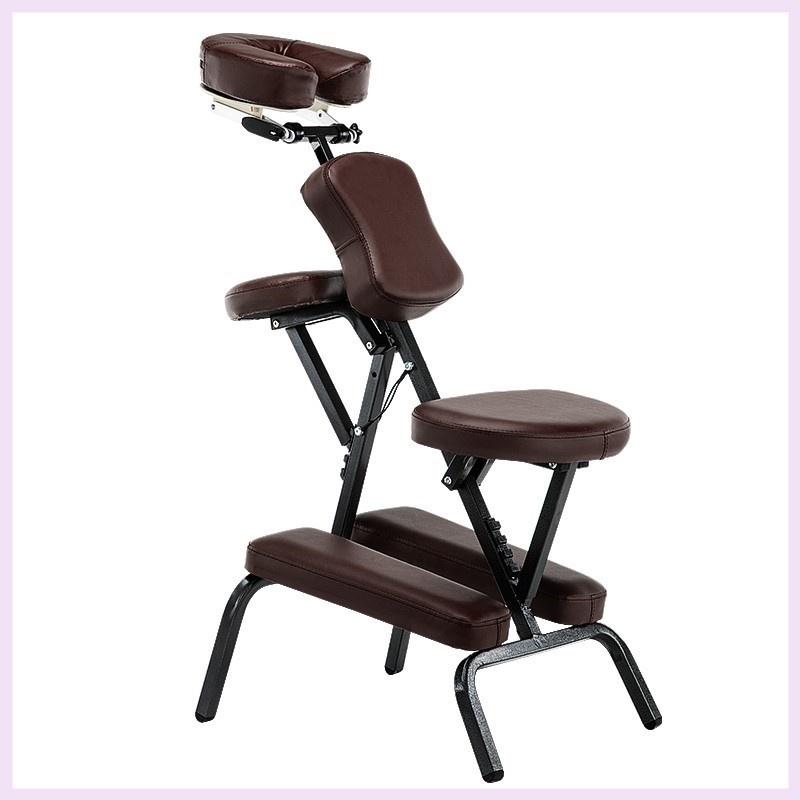 美容の紋様の刺繍チェアの折り畳み式のマッサージチェアzは整骨の保健の椅子をマッサージして折り畳みます。