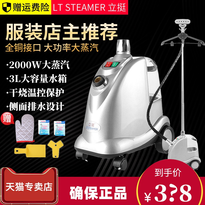 Hanging and ironing all commercial household fabrics high power shop clothes interface machine 9 copper LT steam electric iron