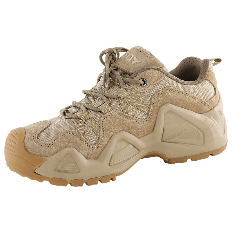 登山靴徒步khaki户外泥色战术男式靴鞋靴鞋卡其色低帮运动沙漠