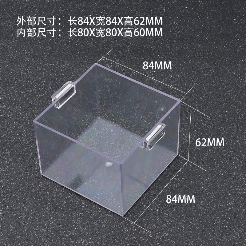 Control cabinet switch operation magnet emergency stop button protective cover to prevent false dust accident cover round square