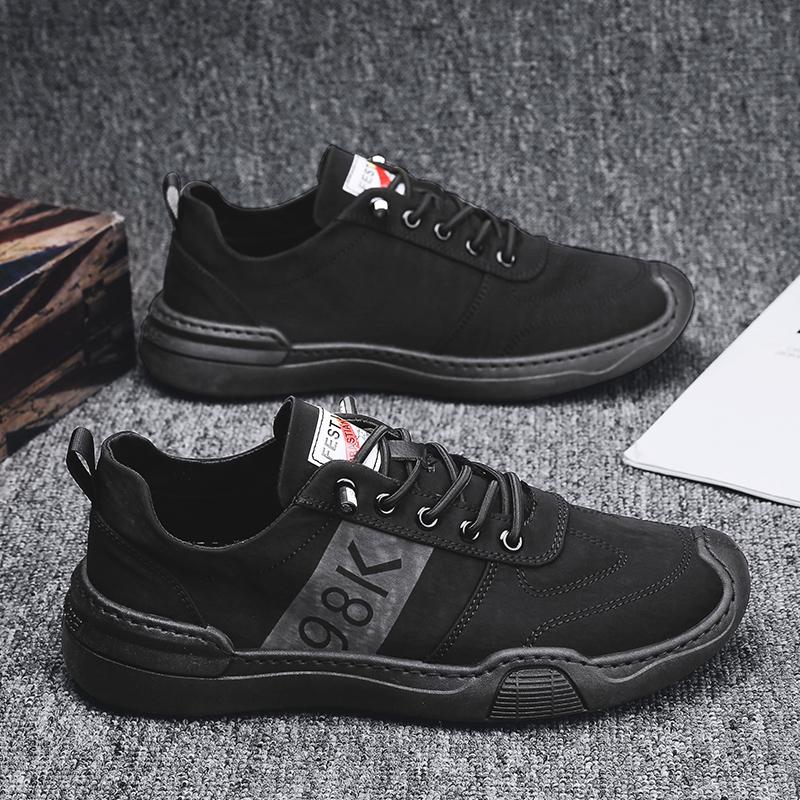 男鞋冰丝布鞋男小白鞋2021新款夏季帆布鞋透气板鞋潮流百搭休闲鞋