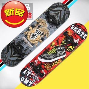 儿童滑车滑板车i车单冰上街头玩雪滑大人男女生初新品四轮滑行。