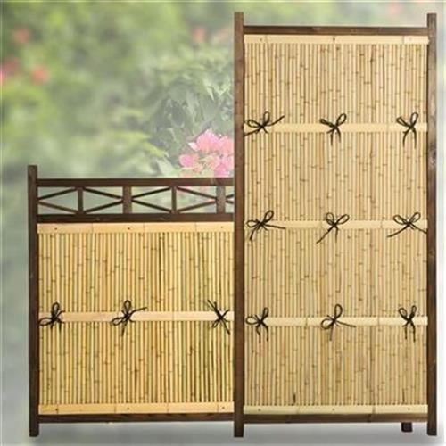 竹艺连杭自然田园竹制作围栏栏杆竹支架KM背景墙竹制工艺栅栏篱。