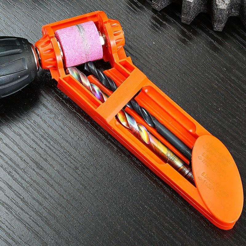 高精度器磨麻花磨床便携式工具小型固定器磨钻头钻研角度