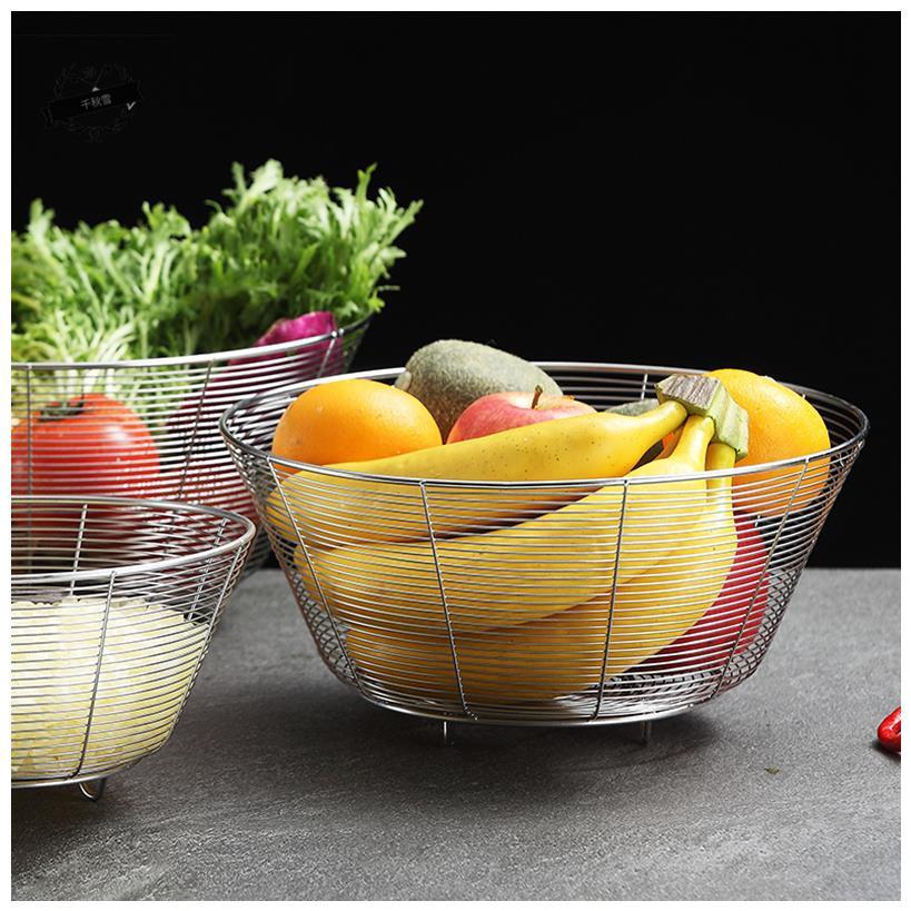 不锈钢长方形水果篮淘米篮洗菜盆过滤网篮沥水筛多用漏盆菜筐漏筐