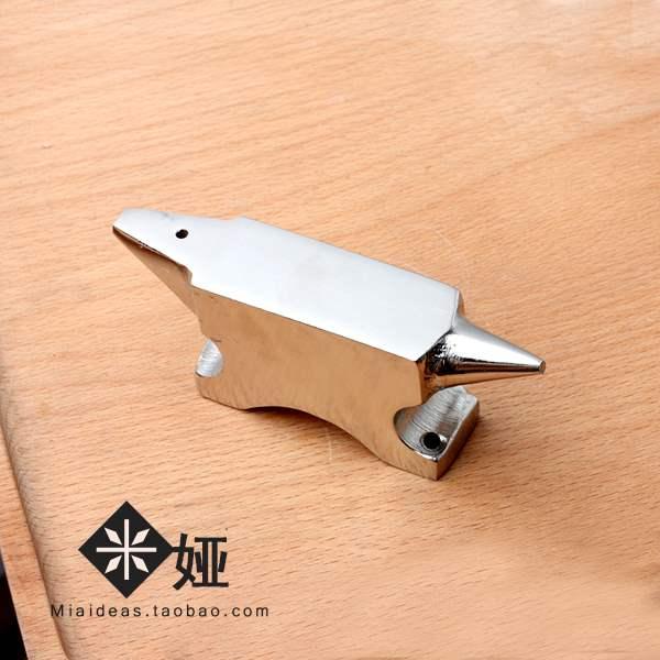米娅新品优质锥形金属垫板锤打绕线造型工具anvilbargain。