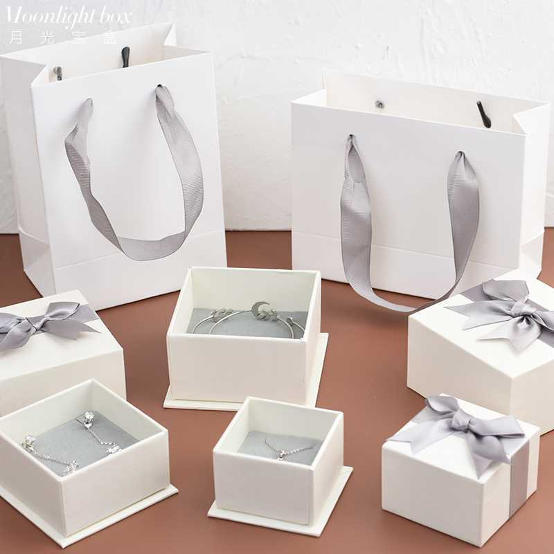 Brooch gift box packaging box high grade exquisite empty box for jewelry small creative jewelry gift storage simplicity