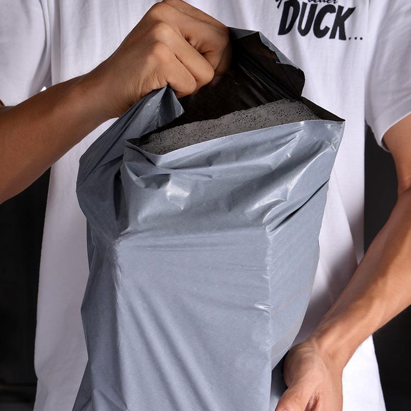 物防淘价加色小宝厚衣袋流子号递包大黑白服邮袋特快2s842包水打