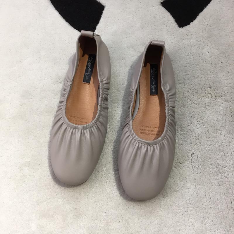 单鞋女平底2019春季新款芭蕾舞软底舒适网红百搭玛丽珍绑带仙女鞋