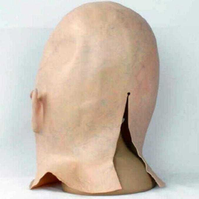 Head cover spoof alien face role silicone props all haunted house secret room horror mask scare play