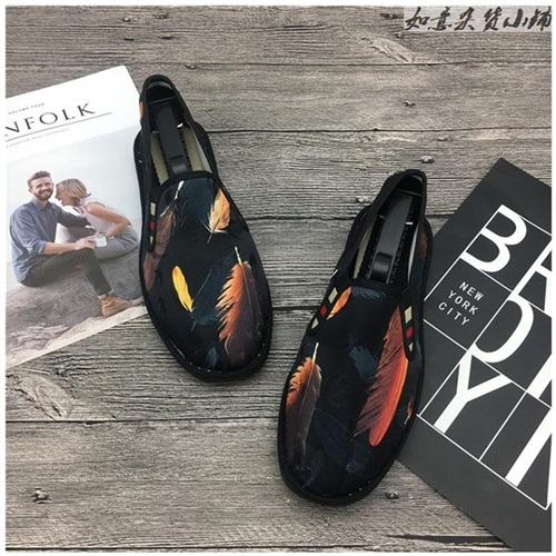 Chinese style embroidered cloth shoes spring and autumn old style girl Canvas Black Embroidered summer mens shoes pattern