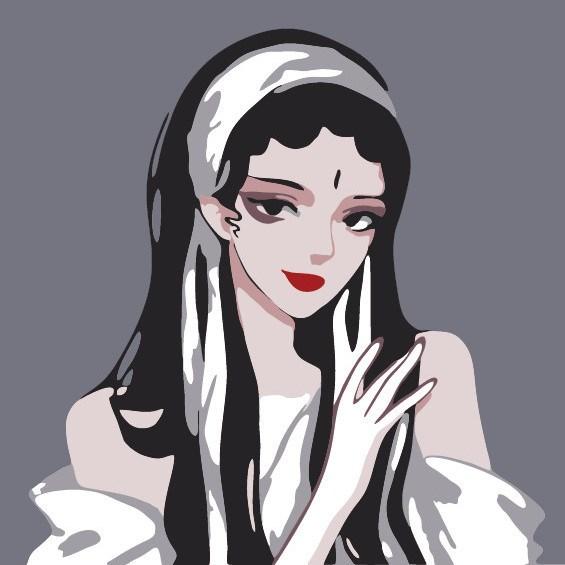 数字油画diy手工制作礼w填色画
