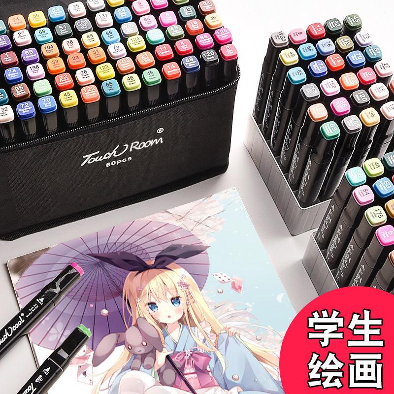 中國代購|中國批發-ibuy99|马克笔|正品Touchroom马克笔套装便宜双头酒精油性美术绘画笔学生彩色笔