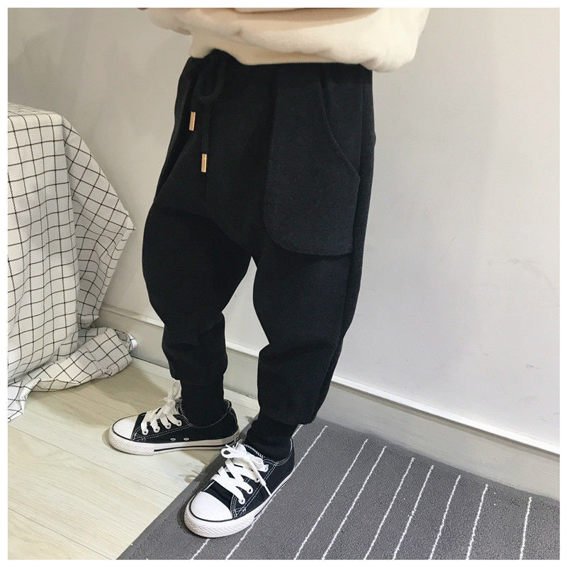 Childrens pants new thin baby boys single pants childrens spring and autumn children wear childrens jeans