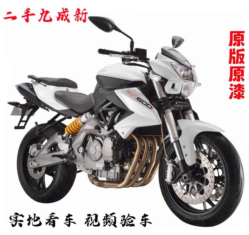 进口二手黄龙300BN600cc摩托车街车小黄龙大排量重机车跑车