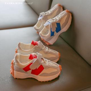 女童鞋子2021新款儿童男童春秋款秋季宝宝中大童潮爆款运动老爹鞋